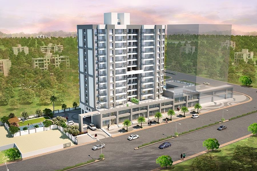 Flats in Baner, Pune | 3 BHK | Sterling Towers
